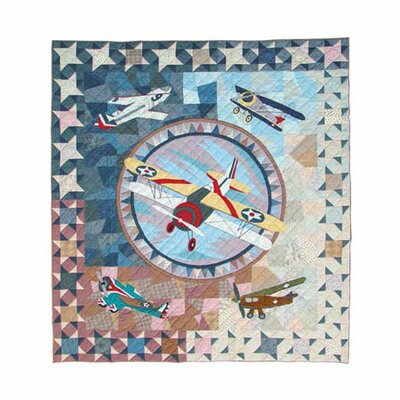 Airplane Quilt by Patch Magic
