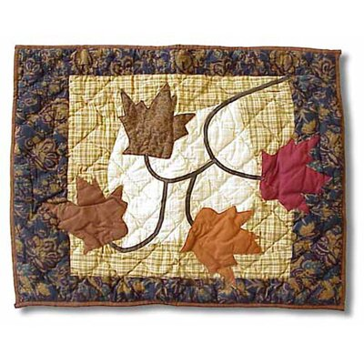 Autumn Leaves Pillow Sham by Patch Magic