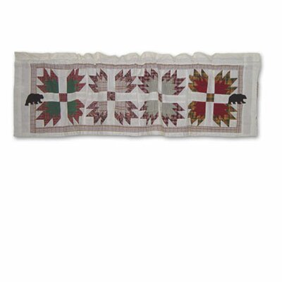 "Patch Magic Bear's Paw 54"" Curtain Valance"