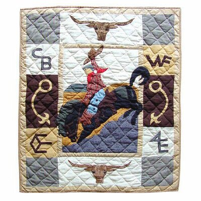 Brand Crib Quilt by Patch Magic
