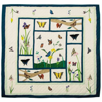 Butterfly Kisses Quilt by Patch Magic