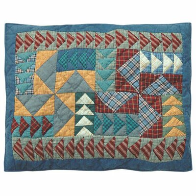 Fall Windmills Pillow Sham by Patch Magic