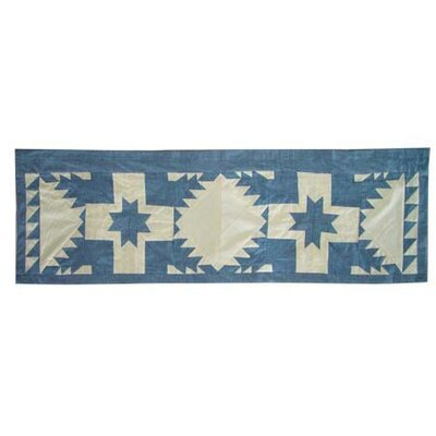 "Patch Magic Feathered Star 54"" Curtain Valance"