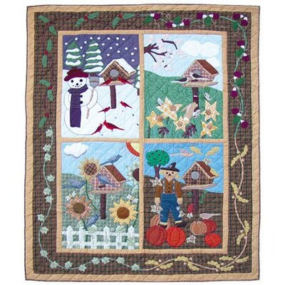 Four Seasons Quilt by Patch Magic
