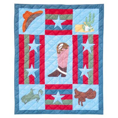 Wild West Crib Quilt by Patch Magic
