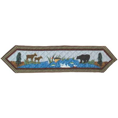 Nature's Splendor Table Runner by Patch Magic