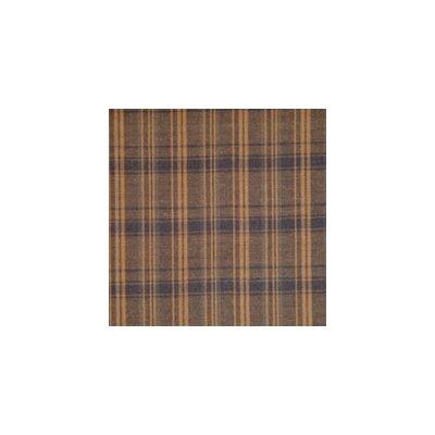 Patch Magic Dark Brown Plaid Bed Skirt / Dust Ruffle