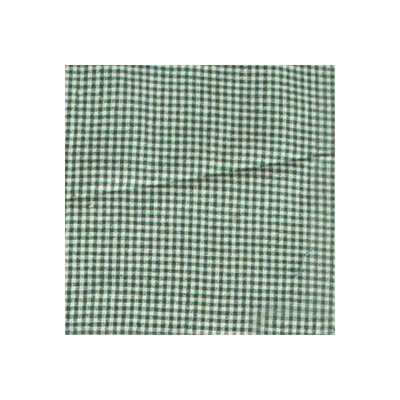 Granma's memories Gingham Checks Cotton Throw Pillow by Patch Magic