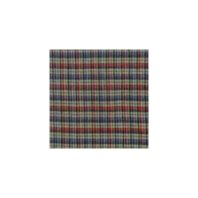Patch Magic Tan And Blue Plaid Red Pink Line Cotton Curtain Panels