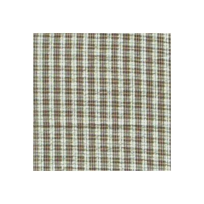 Brown and White Plaid Napkin by Patch Magic