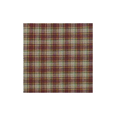 Patch Magic Tan and Gold Rustic Check Cotton Bed Curtain Panels