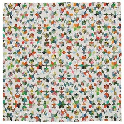 Patch Magic Granma's Memories Cotton Shower Curtain