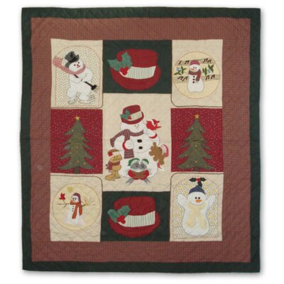 Jolly Snowmen Quilt by Patch Magic