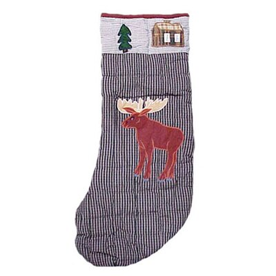 Patch Magic Moose Moose Stocking