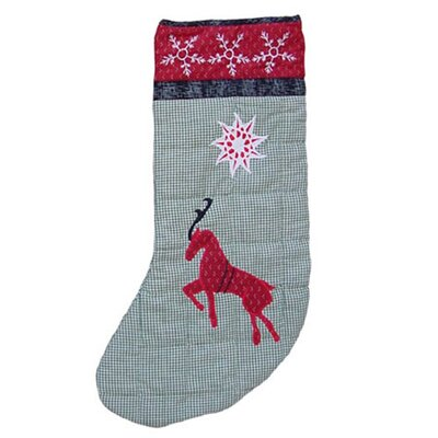 Patch Magic Northpole Fish Tales Reindeer Stocking