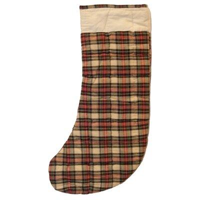 Patch Magic Plaid Fabric Stocking