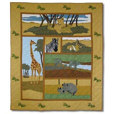 Safari Cotton Throw by Patch Magic