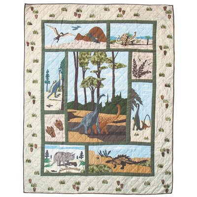 Dinosaur Queen Quilt by Patch Magic