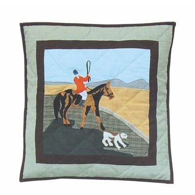 Patch Magic Fox Hunt Cotton Throw Pillow