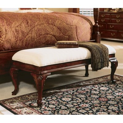 Cherry Grove Wooden Bedroom Bench by American Drew