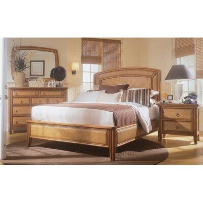 american drew antigua sleigh customizable bedroom set