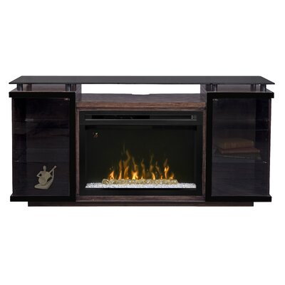 Aiden Media Console Electric Fireplace by Dimplex