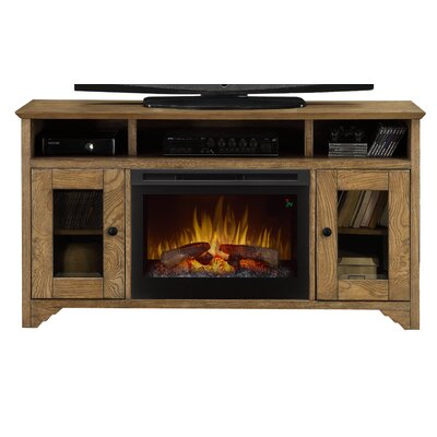 Walker Media Console Electric Fireplace by Dimplex