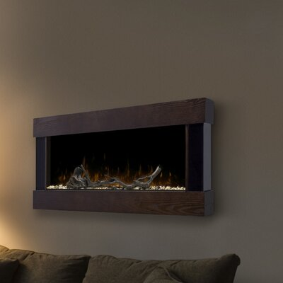 Chalet Wall Mounted Electric Fireplace by Dimplex