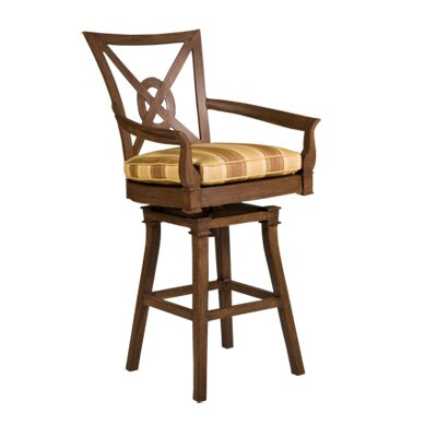 "Woodard Landgrave Vienna 32.2"" Bar Stool with Cushion"
