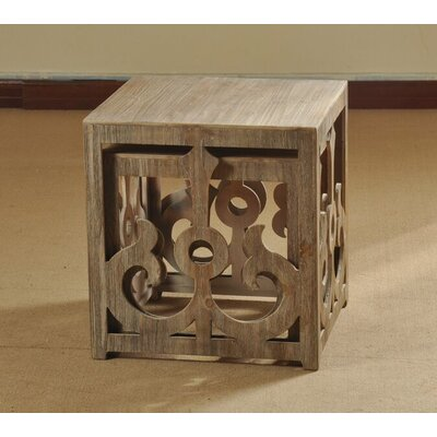 Wooden Scroll Nesting Tables by Style Craft