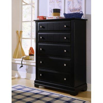 vaughan bassett cottage 5 drawer chest reviews wayfair. Black Bedroom Furniture Sets. Home Design Ideas
