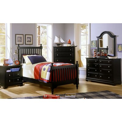 Vaughan-Bassett Cottage Twin Slat Customizable Bedroom Set