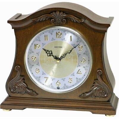 Joyful Versailles Mantel Clock by Rhythm