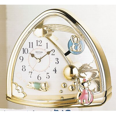 Rhythm U.S.A Inc Sweet Bears Table Clock
