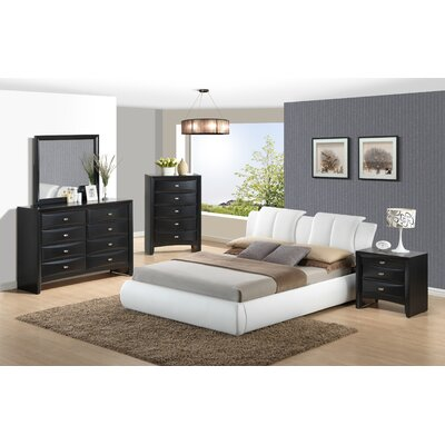 Global furniture usa linda platform customizable bedroom set for Bedroom furniture usa