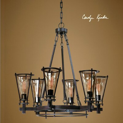 Frisco 6 Light Chandelier Product Photo