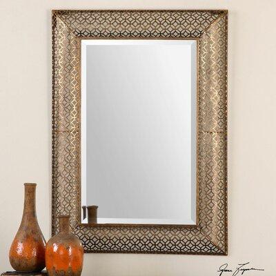 Ariston Stamped Metal Mirror by Uttermost