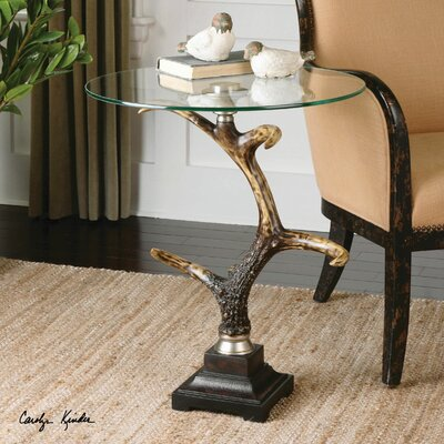 Stag Horn Accent Table by Uttermost