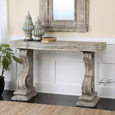Partemio Distressed Console Table by Uttermost