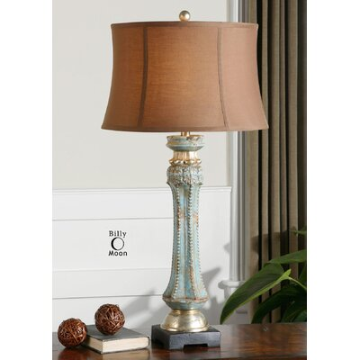 """Uttermost Deniz 35"""" H Table Lamp with Drum Shade"""
