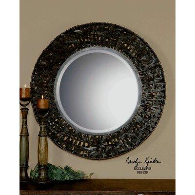 Alita Round Beveled Mirror by Uttermost