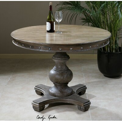 Sylvana Wood Round Table by Uttermost