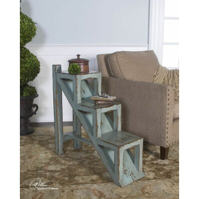 Asher Blue End Table by Uttermost
