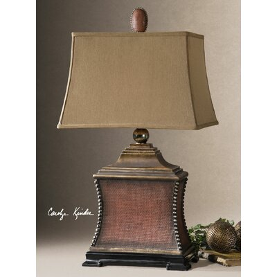 """Uttermost Pavia 33"""" H Table Lamp with Rectangular Shade"""