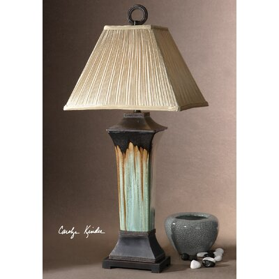 """Uttermost Olinda 37"""" H Table Lamp with Empire Shade"""