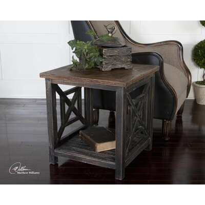 Spiro End Table by Uttermost