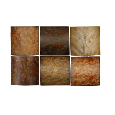 Klum Collage by Grace Feyock 6 Piece Painting Print Set by Uttermost