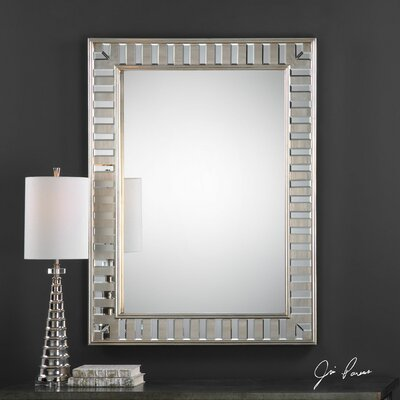 Lanester Leaf Mirror by Uttermost