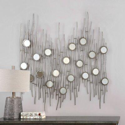Ariyn Silver Framed Wall Art by Uttermost