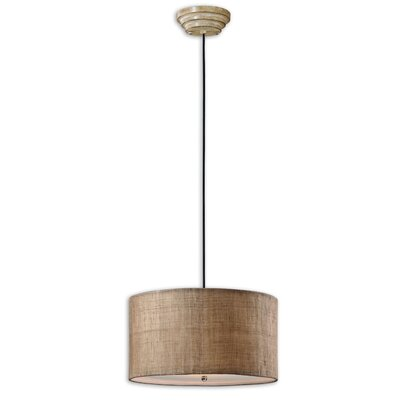 Uttermost CK Generic 3 Light Dafina Drum Foyer Pendant